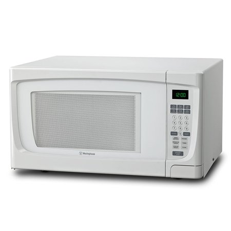 Counter Top Microwave Oven, 1.6 Cubic Feet, White