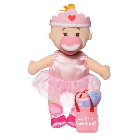 Soft Ballerina (Manhattan Toy Wee Baby Stella Tiny Ballerina 12