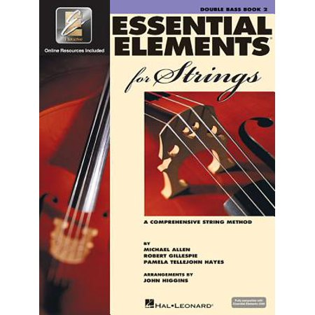 Essential Elements for Strings - Book 2 with Eei : Double Bass Bass Drum Music Book