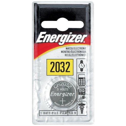 Energizer ECR2032BP WATCH & CALCULATOR BATTERIES (3V) by Energizer Batteries
