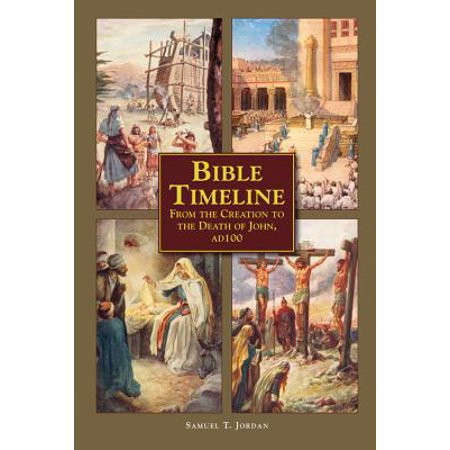 Bible Timeline : From Creation to the Death of John 100 AD - Bible Time Line