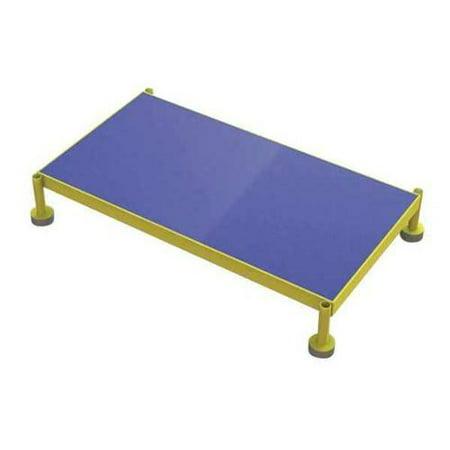 TRI-ARC MCOS36199 Adjust. Height Work Platform,9In-14In G0979399 (Blue Arcs)