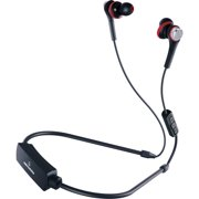 Audio-technica Solid Bass Wireless In-ear Headphones With In-line Mic & Control - Stereo - Wireless - Bluetooth - 32.8 Ft - 16 Ohm - 5 Hz - 24 Khz - Earbud, Behind-the-neck - Binaural - (ath-cks55xbt)