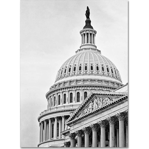 "Trademark Fine Art ""US Capitol Dome"" Canvas Art by Gregory O'Hanlon"