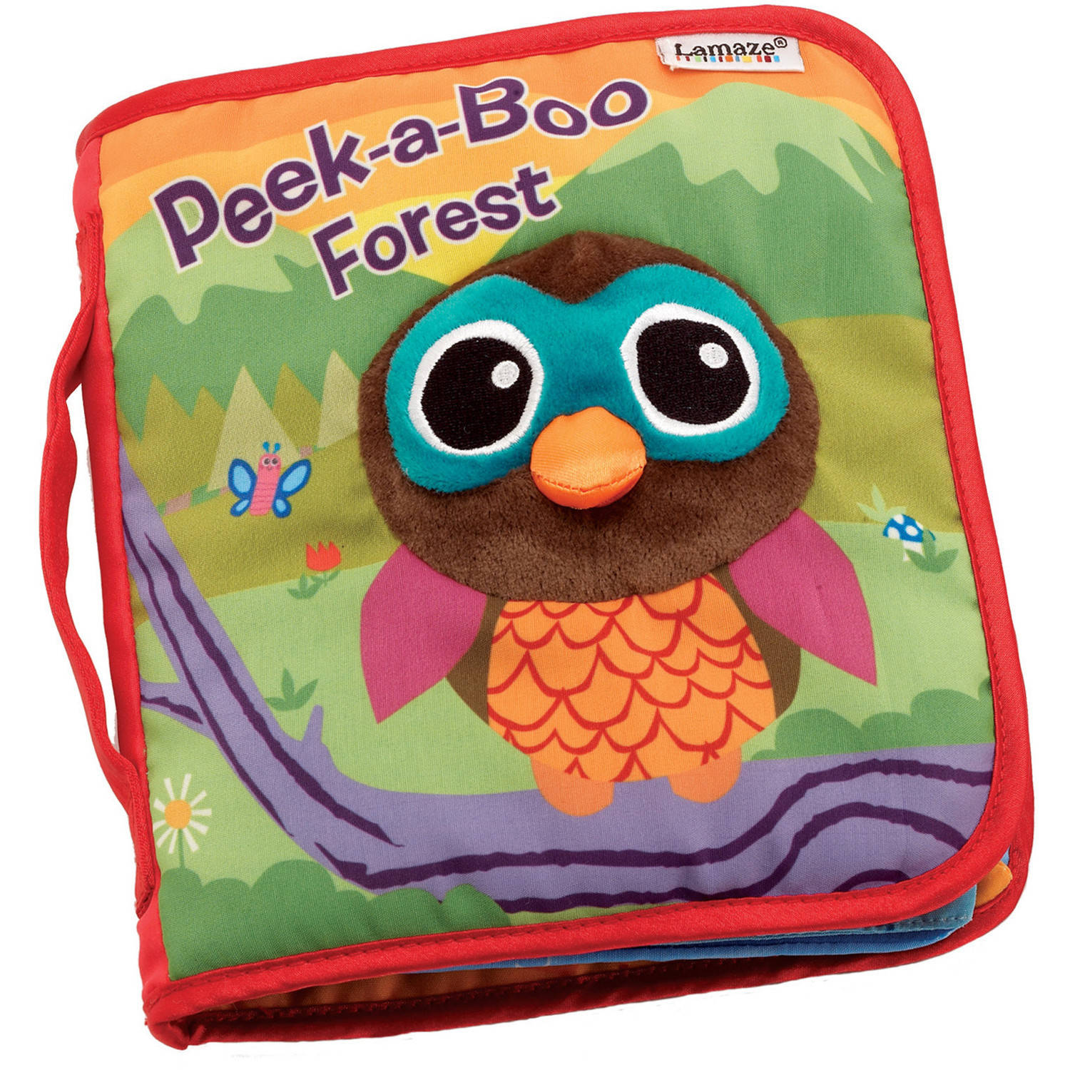 Peek-A-Boo Forest Soft Book
