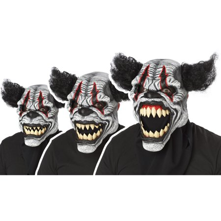 Last Laugh Clown Ani-Motion Adult - Ani Motion Wolf Mask