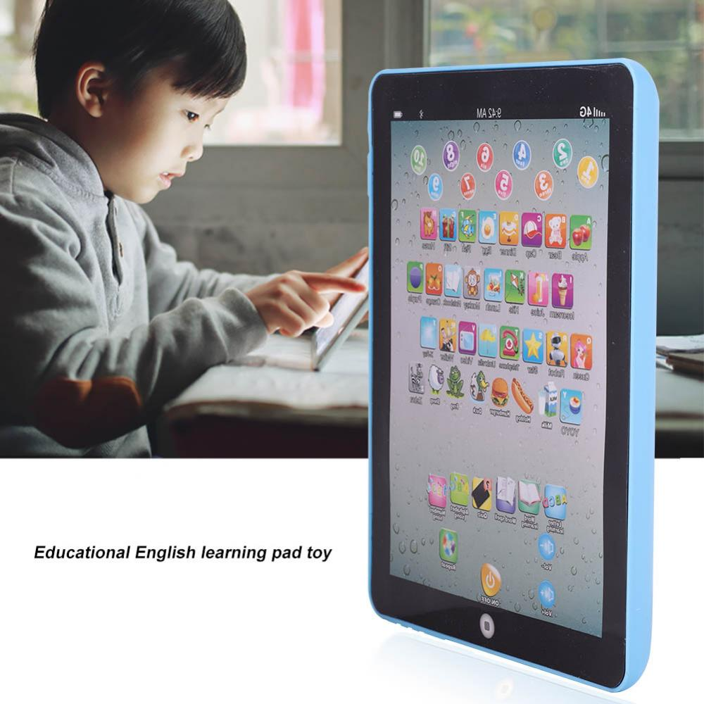 EECOO English Learning Pad Toy,Kids Children Tablet Pad Electronic Preschool English Learning  Educational Teach Toy Kids English Pad Toy