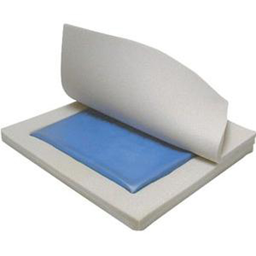 "Drive Skin Protection Gel/Foam ""E"" Seat Cushion 3H x 18W x 16D-1 Each"