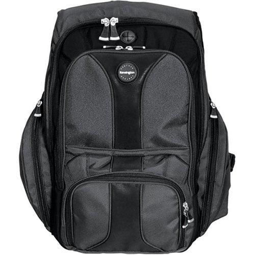"Contour Computer Backpack for 16"" Laptops (K62238B), Contour adjustable lumbar support panel reduces... by Kensington"