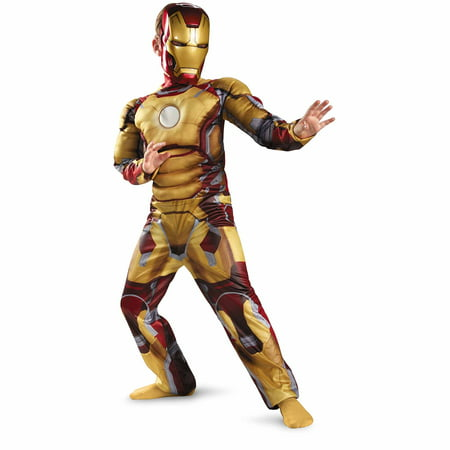 Iorn Man Costume (Iron Man Mark 42 Child Halloween)