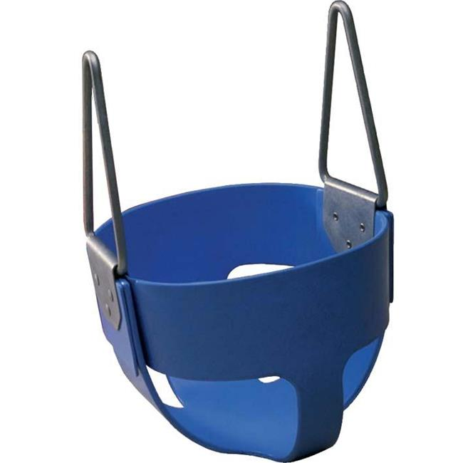 Olympia Sports PG036P Rubber Enclosed Infant Swing Seat - Blue