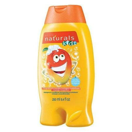 - Avon Naturals Magnificent Mango Shampoo & Conditioner 250ml 8.4 fl oz