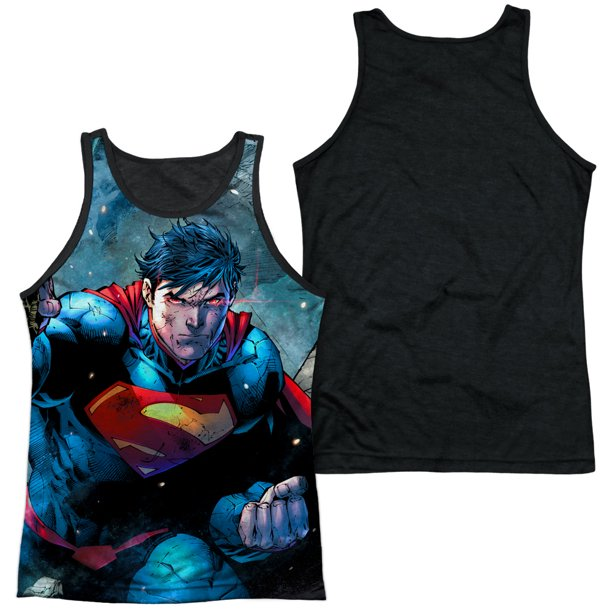 Superman - Rumble - Black Back Tank Top - XX-Large