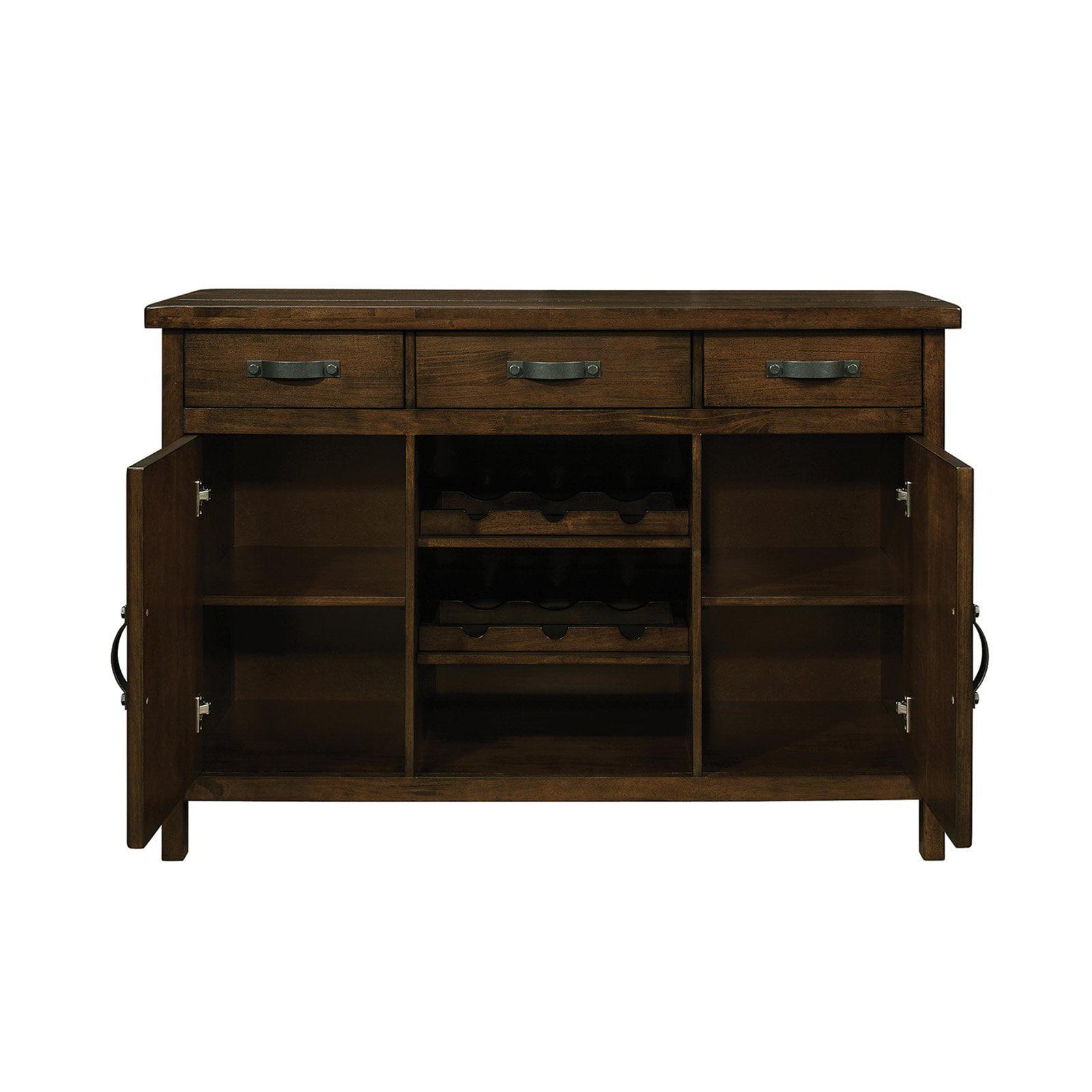 Coaster Furniture Wiltshire Rustic Pecan Server by Coaster - Brown