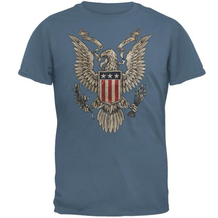 4th Of July Born Free American Eagle Mens T - Eagle Mens Shirt