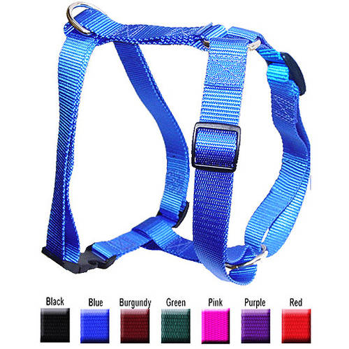 Majestic Pet 12'' - 20'' Adjustable Harness in Multiple Colors Fits Most 10-45 lbs Dogs