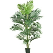 Nearly Natural 7ft. Paradise Palm Artificial Tree, Green