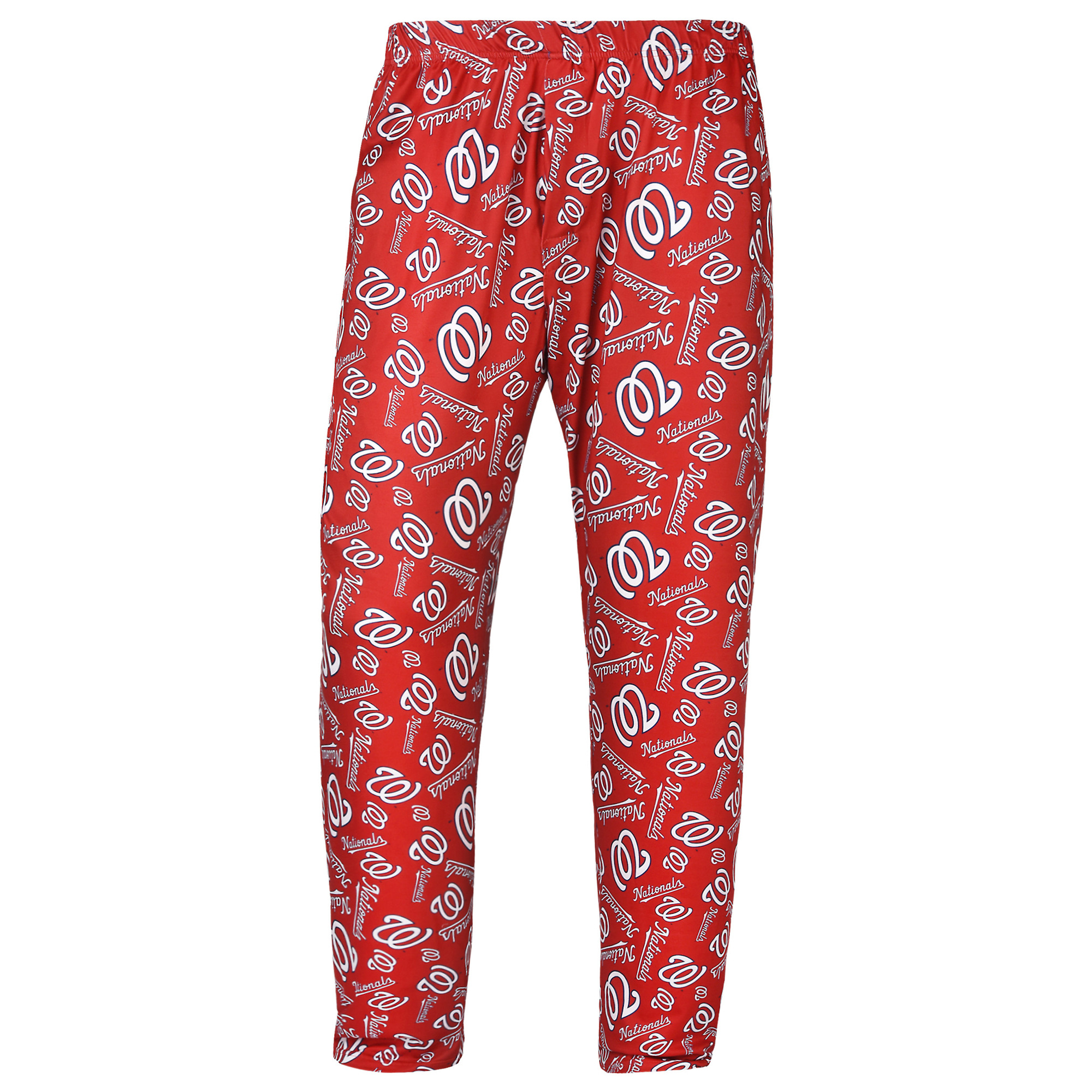 Washington Nationals Women's Repeat Polyester Print Pants - Red