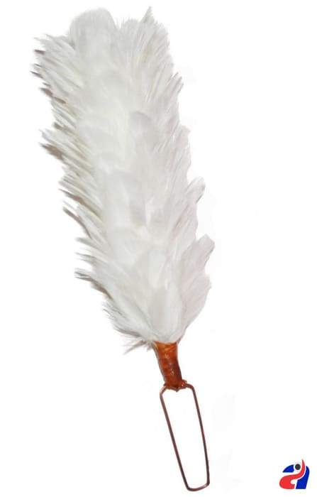 """New Glengarry Cap Feather Bonnet Hackle Red 12/"""" Balmoral Hats Highland Head wear"""