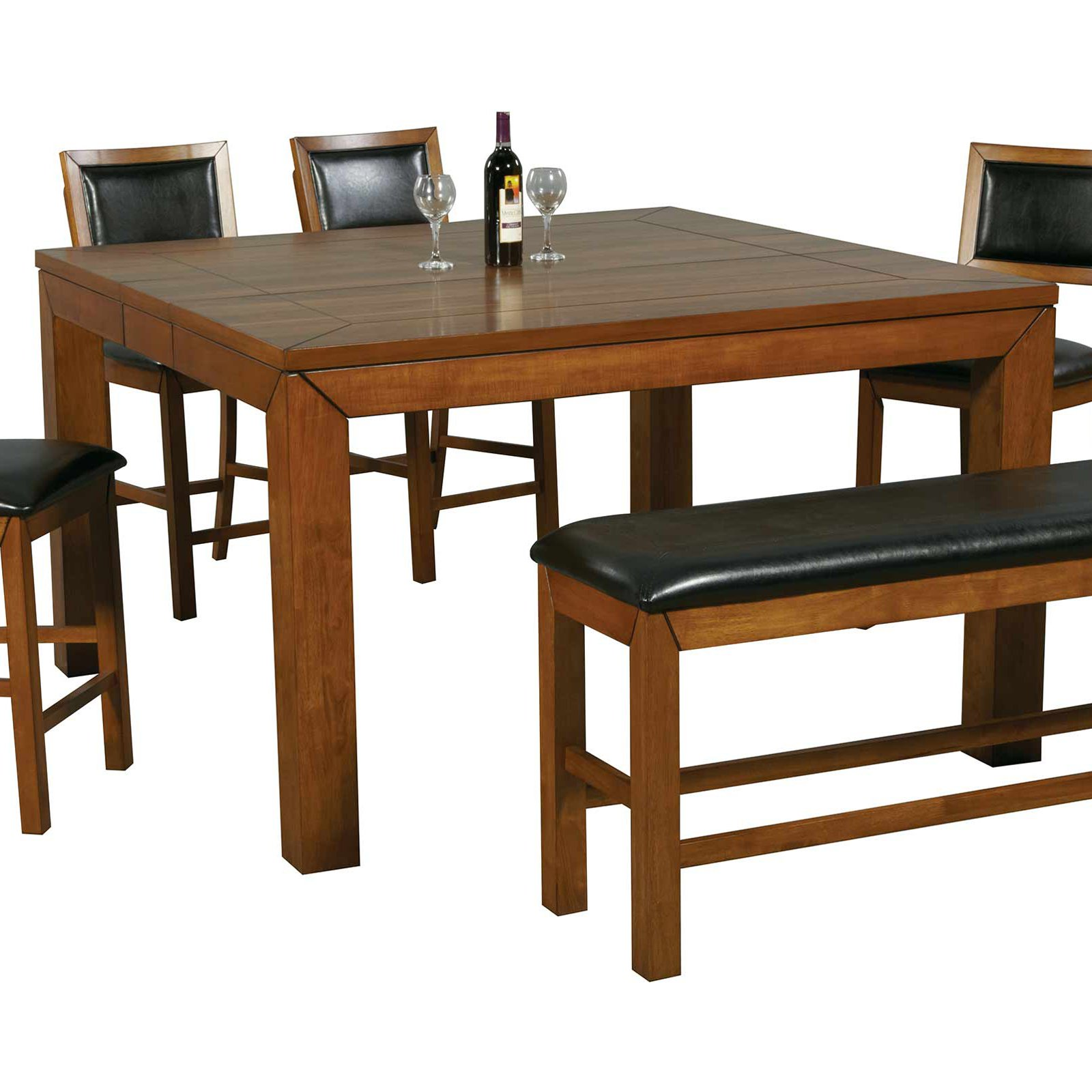 Winners Only Westchester Counter Height Dining Table With 12 In. Leaf