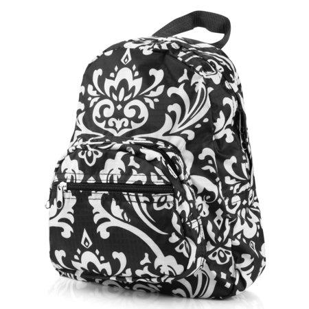 Zodaca Stylish Kids Small Travel Backpack Girls Boys Bookbag Shoulder Children's School Bag for Outside - Justice Bookbags For Girls