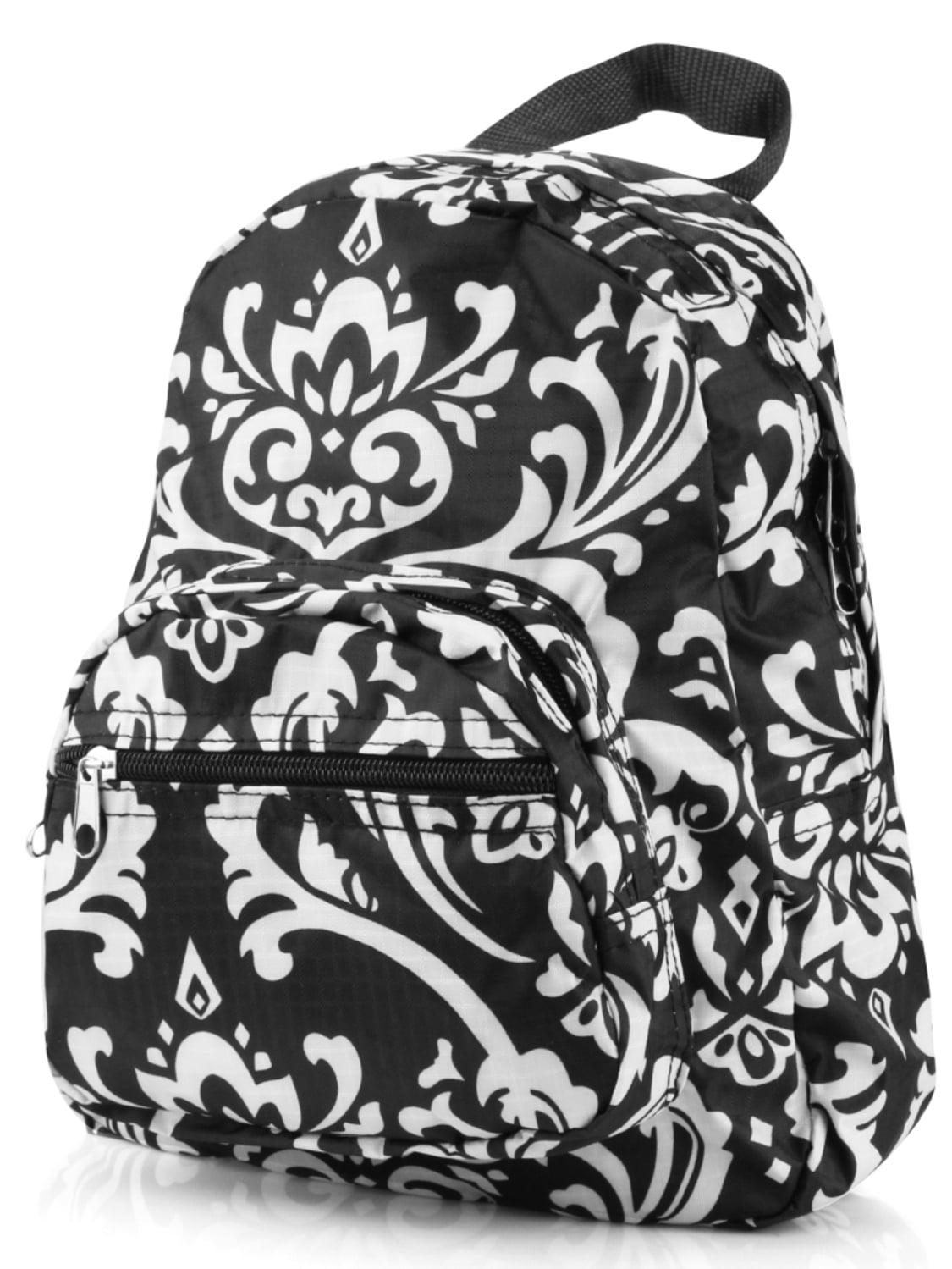 Zodaca Stylish Kids Small Travel Backpack Girls Boys Bookbag Shoulder Children's School Bag for Outside Activity