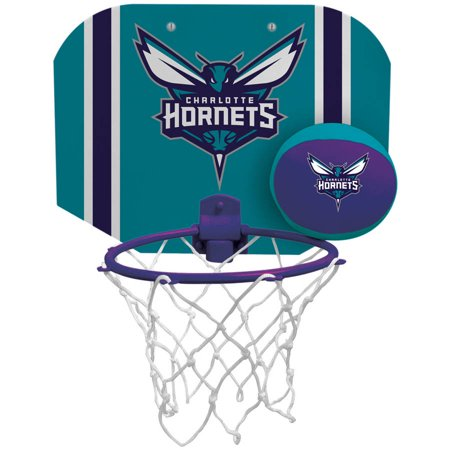 Rawlings NBA Slam Dunk Softee Hoop Set Charlotte Hornets ()