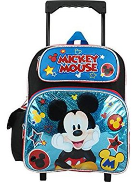 c6e1ed44fbe Product Image Small Rolling Backpack - Disney - - Blue Stars 12 699888