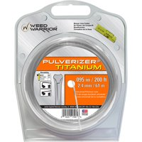 Weed Warrior Replacement Titanium Trimmer Line .95, 200 ft. Large Donut