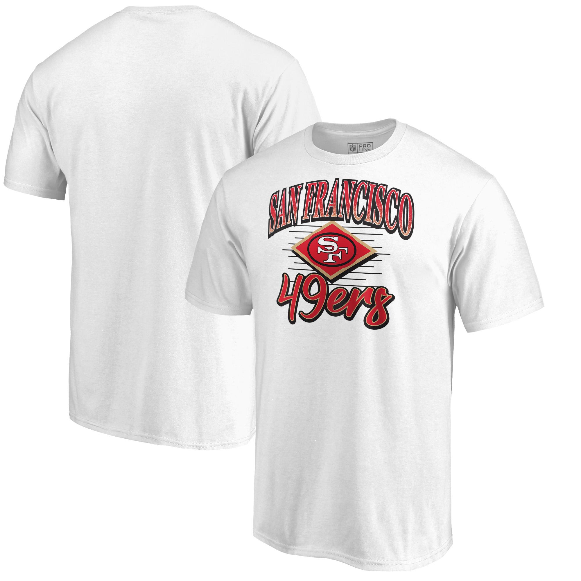 San Francisco 49ers Fanatics Branded Artifact T-Shirt - White