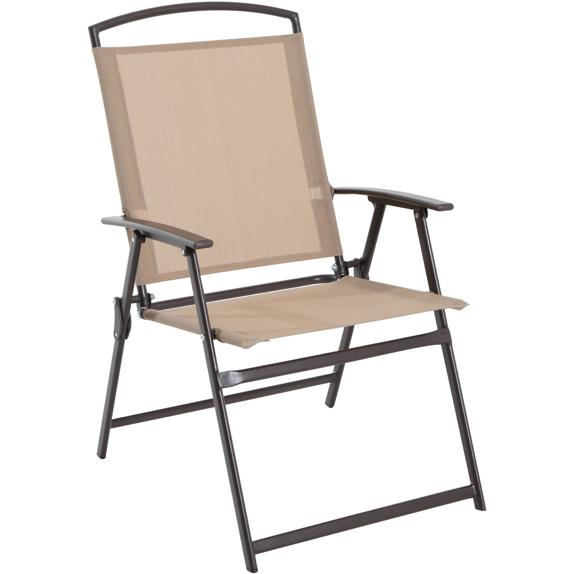 mainstays albany lane 6 piece folding dining set tan umbrella patio set. Black Bedroom Furniture Sets. Home Design Ideas