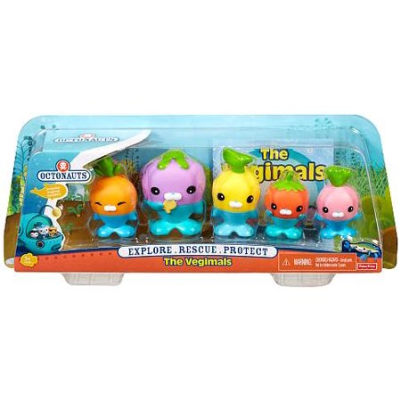 Octonauts The Vegimals Figure 5-Pack - Octonauts Characters Tweak