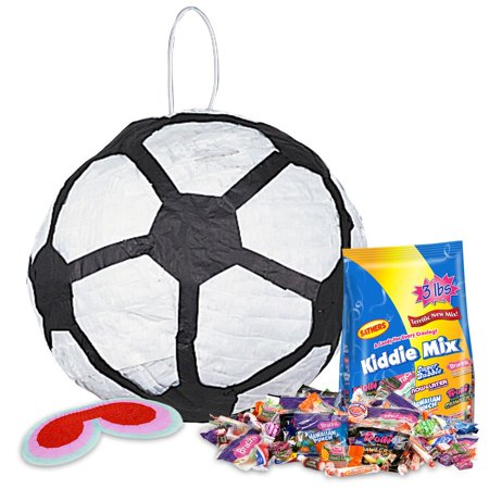soccer ball pinata kit - party supplies](Soccer Pinata)