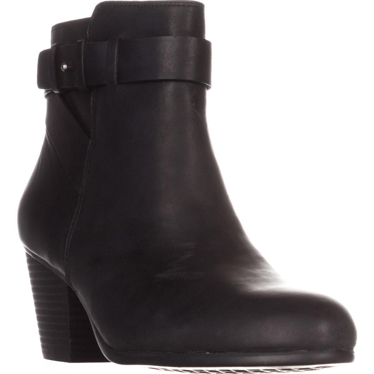 Womens Aerosoles Inevitable Comfort Ankle Boots, Black