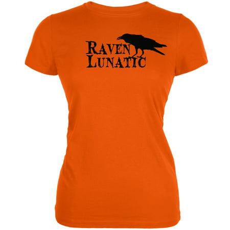 Raven Halloween (Halloween Raven Lunatic Orange Juniors Soft)