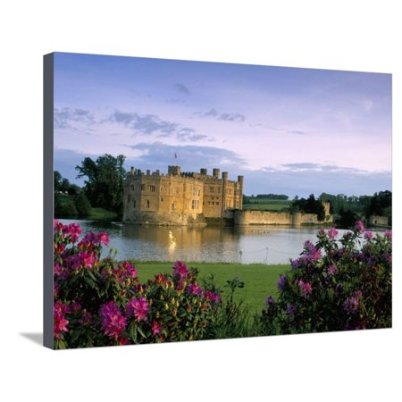 Leeds Castle, Kent, England, United Kingdom Stretched Canvas Print Wall Art By Adam Woolfitt ()