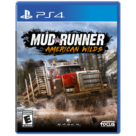 Mudrunner: American Wilds, Maximum Games, PlayStation 4, (Premium Wild Game)