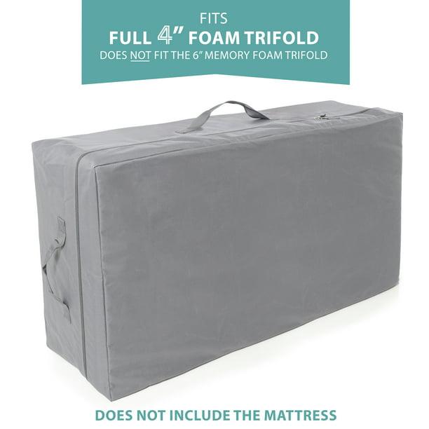 Carry Case For Milliard 4 inch Full Tri-Fold Mattress ...