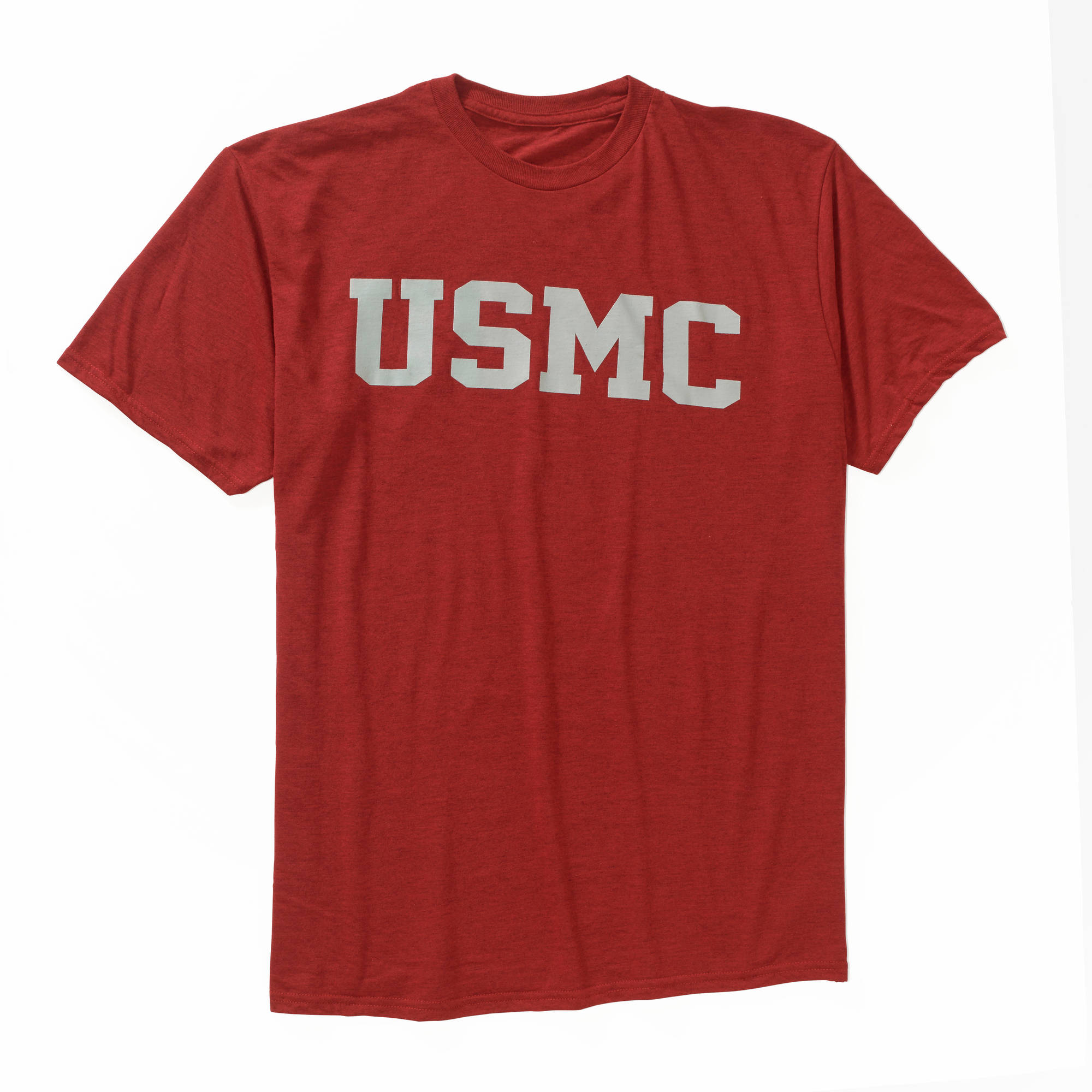 Men's Military Officially Licensed USMC Workout Tee, 2XL