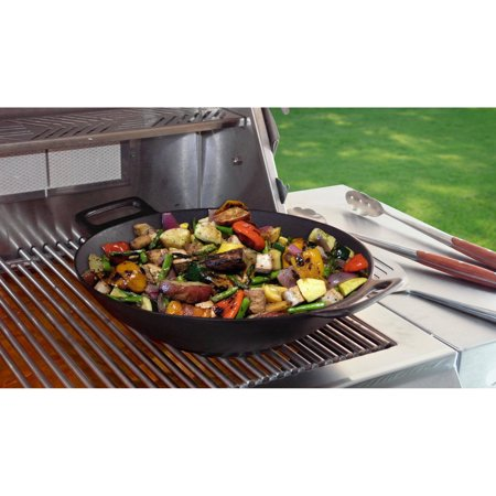 Mr. Bar-B-Q Cast Iron Wok