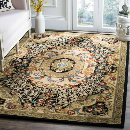 Safavieh Classic Chandler Floral Bordered Area Rug Or Runner