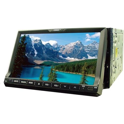 "Sumas Media SM-797DGBT In-Dash 7"" Monitor Car Stereo GPS DVD Player USB BT Radio"