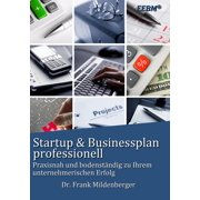 Startup & Businessplan professionell - eBook