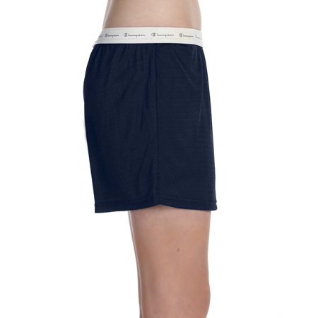 Champion Women's Active 5' Mesh Short, Navy - XL