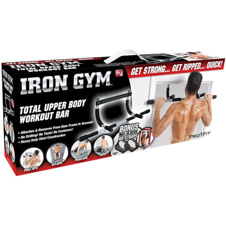 Iron Gym Total Body Workout Bar