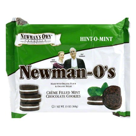 Newman Os Hint O  Mint Cookies  13 Oz  Pack Of 6