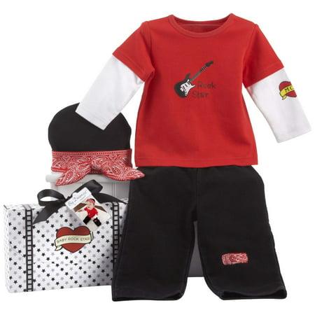 Baby Aspen Big Dreamzzz Baby Giftset  Rockstar Multi Colored