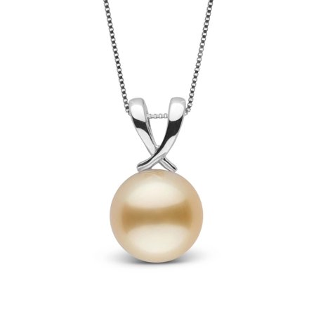 Ribbon Collection Golden 10.0-11.0 mm South Sea Pearl Pendant