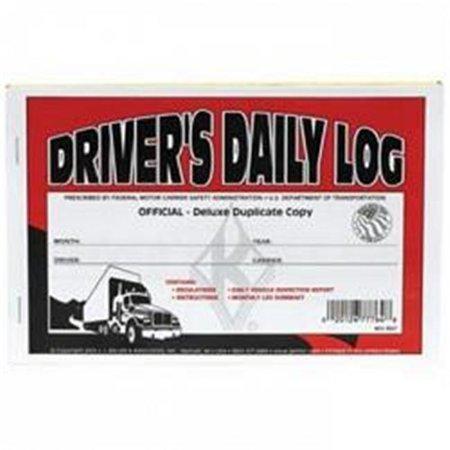 J.J. Keller 601L Duplicate Drivers Daily Log Book with Carbon - image 1 de 1