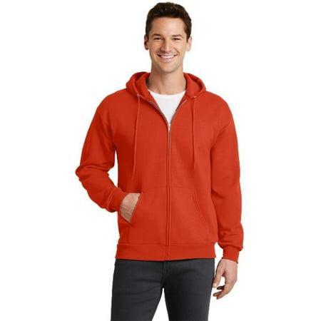 Port & Company® - Core Fleece Full-Zip Hooded Sweatshirt. Pc78zh Orange 2Xl - image 1 de 1
